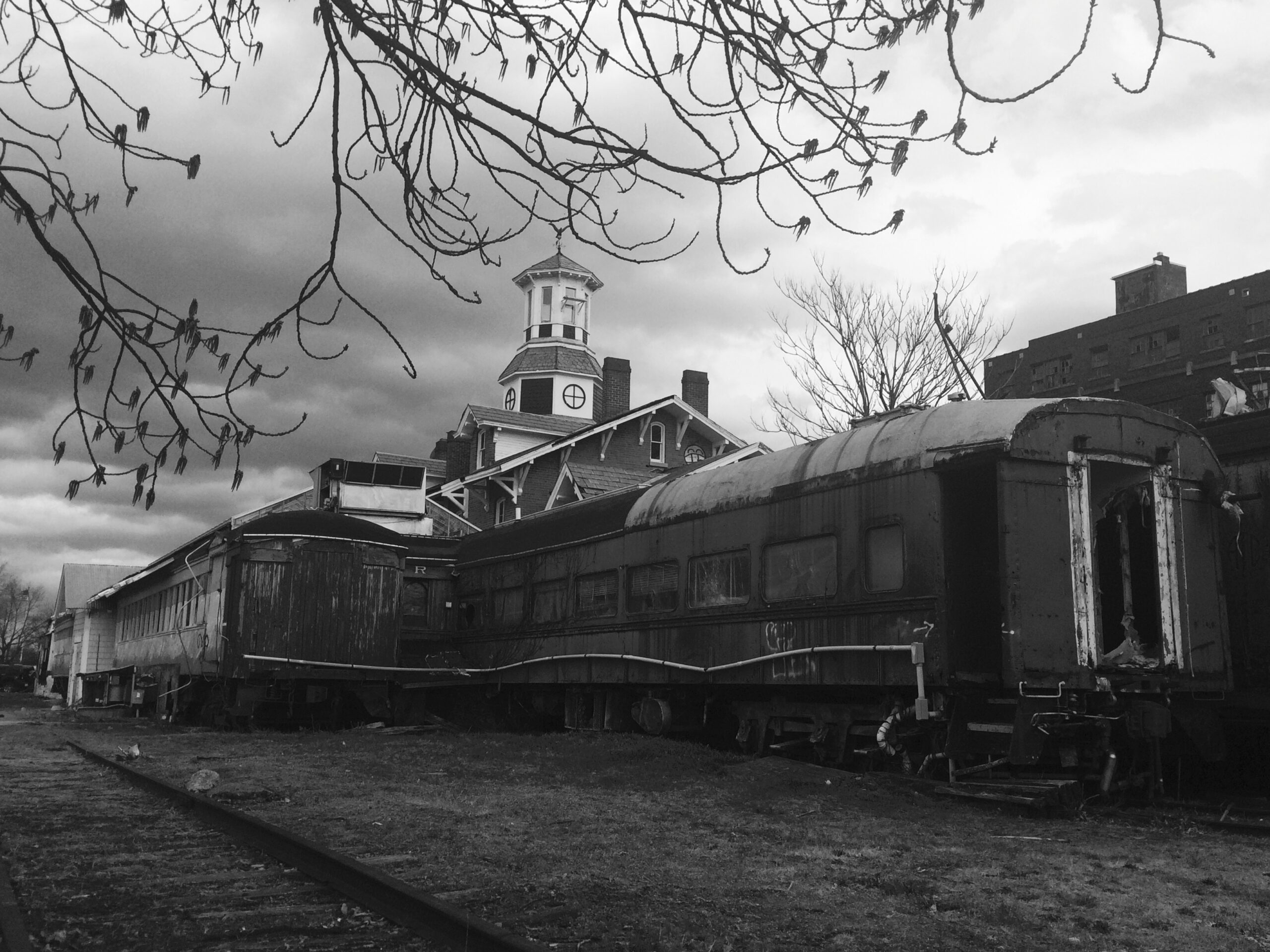The Remains of the Train Station Photo by Owen Vaughn (March 31, 2016)